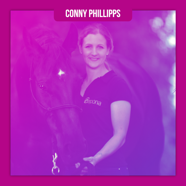 Conny Phillipps • FN Physiotherapeutin für Pferde & Osteopathie