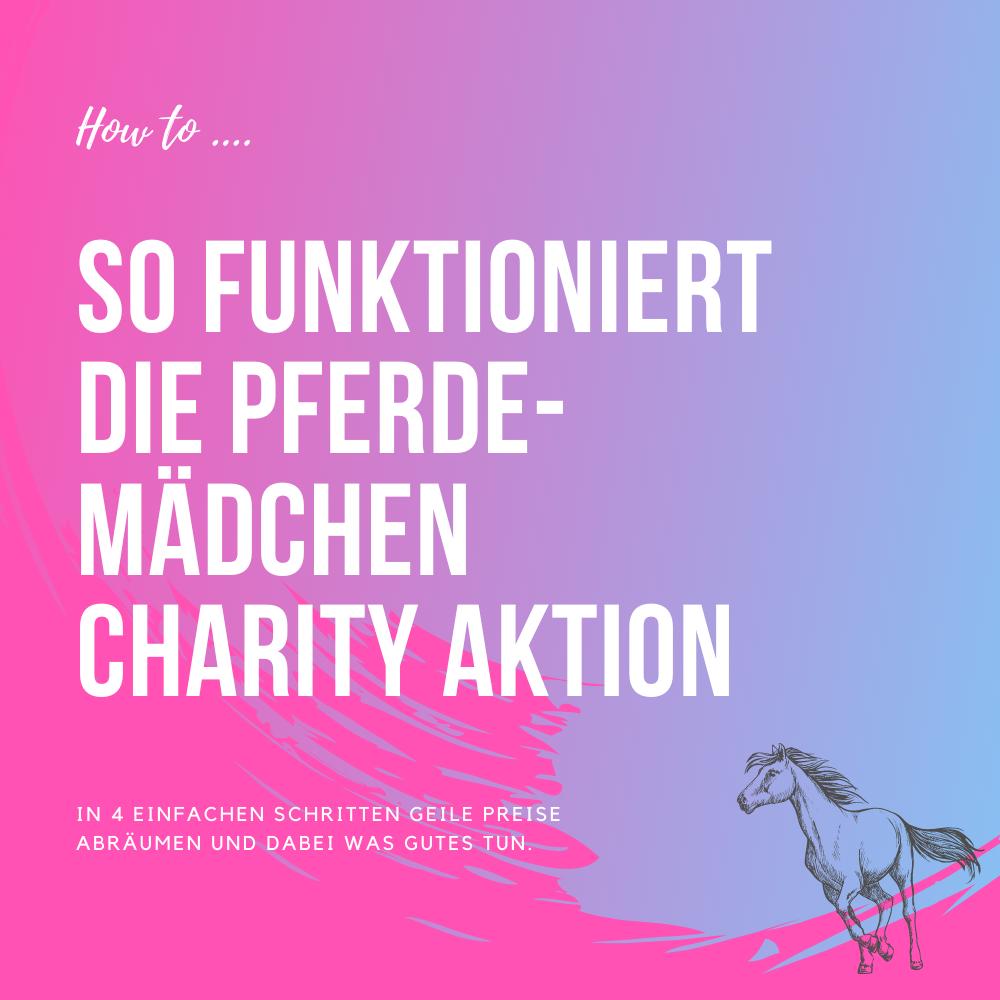 Charity Aktion Pferdemädchen Podcast Anleitung