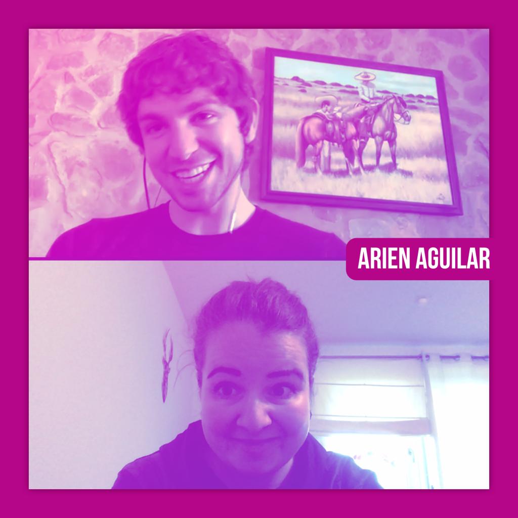LIVE LOVE RIDE Der Pferdemädche Podcast Arien Aguilar mit Sabine Blank Horse Library