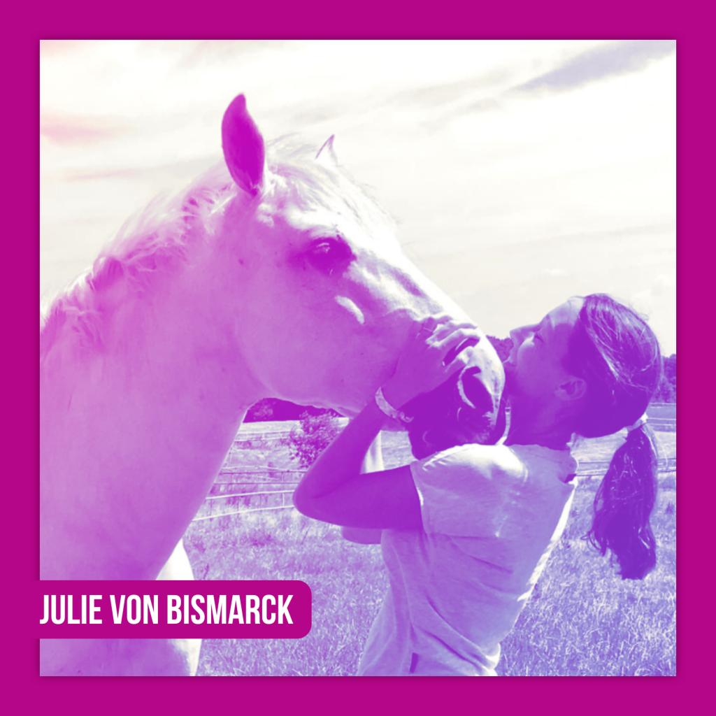LIVE LOVE RIDE Pferdemädchen Podcast Equine Expertise! Julie von Bismarck • Writing for change